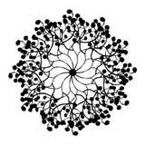Черно-белое Absract иллюстрация штока