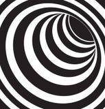 Черно-белое 3d формирует вектор Стоковые Изображения RF