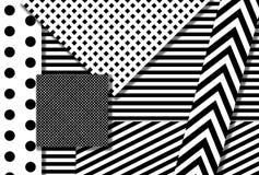Черно-белый дизайн иллюстрация штока