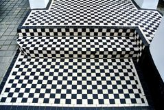 черно-белый пол Стоковое фото RF