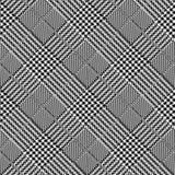 Черно-белый раскосный дизайн предпосылки повторения конспекта и вектора зуба гончих иллюстрация штока