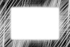Черно-белый свет отстает рамку Стоковые Изображения RF