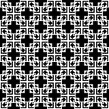 Черно-белый файл вектора картины seamlesss иллюстрация вектора