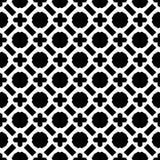 Черно-белый файл вектора картины seamlesss иллюстрация штока