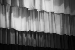 Черно-белый шатер театра стоковое фото rf
