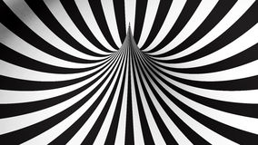 Черно-белая геометрическая форма Стоковые Фотографии RF