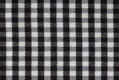 Черно-белая картина квадратов как предпосылка Стоковая Фотография