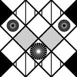 Черно-белая картина с кругами бесплатная иллюстрация