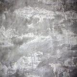 Черно-белая конкретная текстура, Grungy бетонная стена и пол Стоковое Изображение