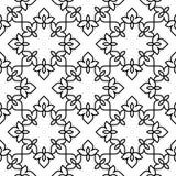 Черно-белая морокканская картина Стоковые Фото