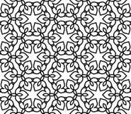 Черно-белая морокканская картина Стоковая Фотография RF