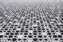 Черно-белая панель sircles стоковое изображение rf