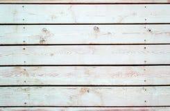 Черно-белая предпосылка деревянной планки Стоковые Фотографии RF