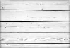 Черно-белая предпосылка деревянной планки Стоковые Изображения