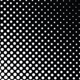 Черно-белая предпосылка полутонового изображения Стоковое Изображение