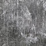 Черно-белая предпосылка текстуры полиэстера хлопка отбеливателя Стоковое Фото
