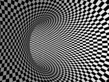 Черно-белая проекция нашивок на торусе. Стоковое Фото