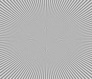 Черно-белая радиальная предпосылка Стоковые Изображения