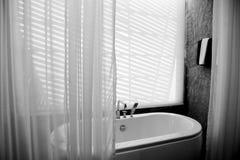 Черно-белая светлая предпосылка Стоковое фото RF