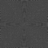 Черно-белая спираль Стоковые Фотографии RF