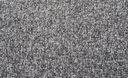 Черно-белая текстура ткани Стоковое Изображение RF