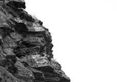 Черно-белые горные породы, республика Khakassia Стоковые Изображения RF