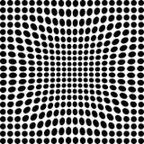 Черно-белые точки Стоковое фото RF