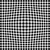 Черно-белые точки Стоковое Изображение