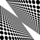 Черно-белые точки Стоковая Фотография
