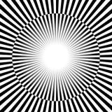 Черно-белые лучи, предпосылка starburst с чередовать, che бесплатная иллюстрация