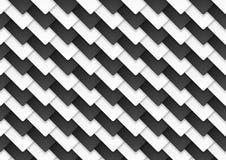 Черно-белый абстрактный контраст техника придает квадратную форму предпосылке бесплатная иллюстрация