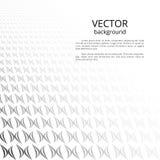 Черно-белый абстрактный фон Стоковое Изображение RF