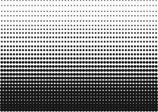 Черно-белый градиент полутонового изображения как предпосылка или мотив, который нужно быть используемым искусством шипучки или р бесплатная иллюстрация