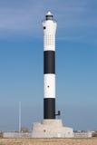 Черно-белый маяк Dungeness Стоковая Фотография RF