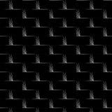 Черно-белый на текстурах Стоковое Изображение