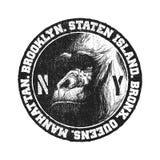 Черно-белый логотип Стоковые Фотографии RF