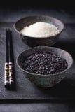 Черно-белый рис Стоковое фото RF