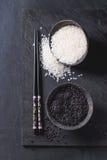 Черно-белый рис Стоковые Фотографии RF