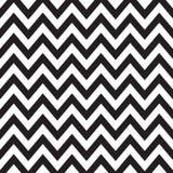 Черно-белый Шеврон Стоковая Фотография