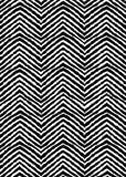 Черно-белый Шеврон Стоковое фото RF