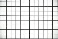 Черно-белым предпосылка или текстура проверенные квадратом бумажные Стоковые Фотографии RF