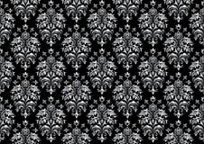 черные безшовные обои Стоковые Фотографии RF
