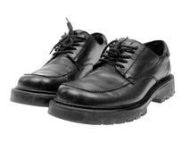 черные ботинки Стоковое Изображение