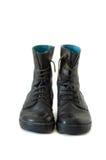 черные ботинки Стоковое Фото