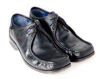 черные ботинки стоковая фотография rf