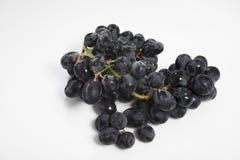 черные виноградины Стоковая Фотография