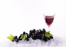 Черные виноградины для здоровья Стоковые Изображения RF