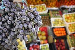 черные виноградины Стоковое Изображение