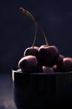 черные вишни шара Стоковые Фото