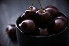 черные вишни шара Стоковые Фотографии RF